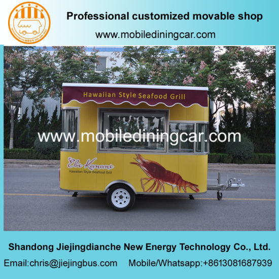 Hot Sale and New Design Mobile Food Catering Trailer
