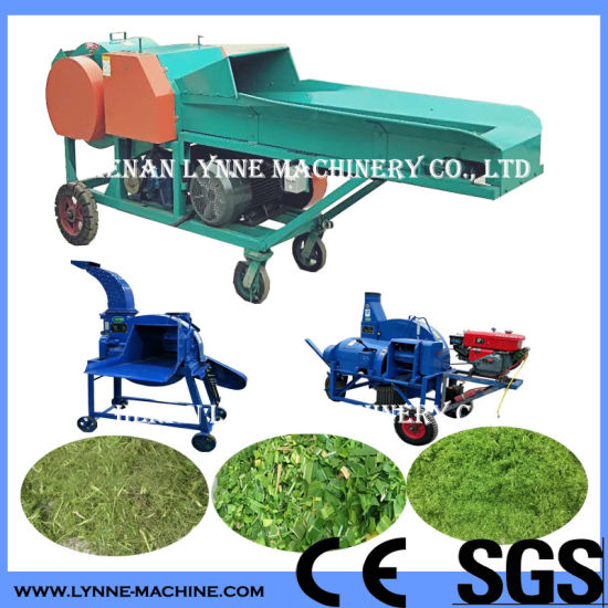 Cattle/Cow Feed Cutting Machine with Straw/Corn Stalks/Dry Hay/Silage