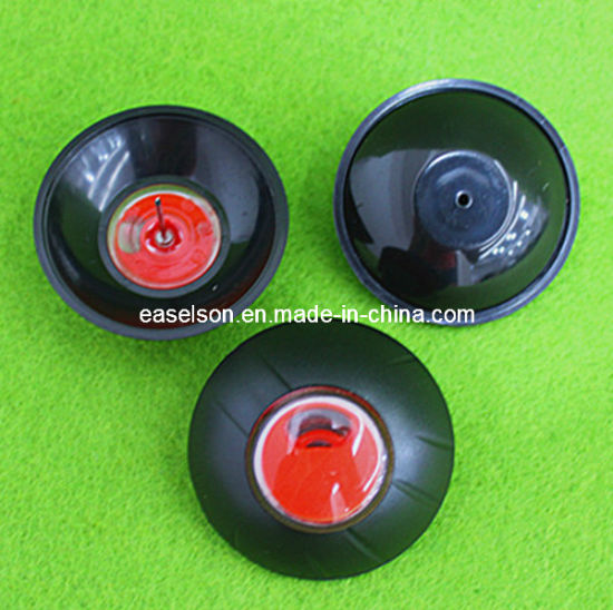 Balck Round Anti-Theft Clothing 58kHz Security Shell Tag with Ink Tags