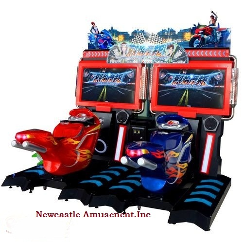 42' Inch LCD Soul of Simulator Game Coin Machine