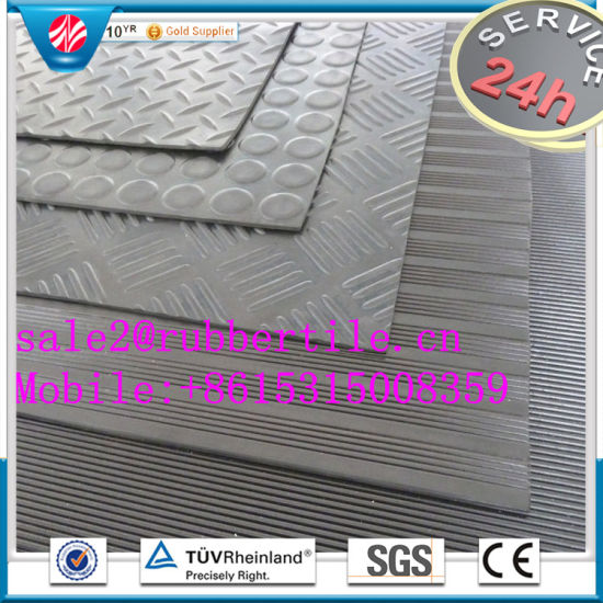Industrial Colorful Anti-Abrasive Acid Resistant Rubber Sheet pictures & photos
