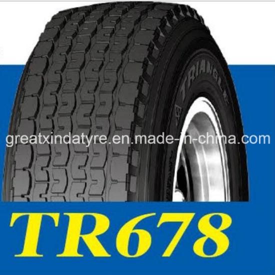 Triangle 445/65r22.5 Super Single Truck Tire for Traction