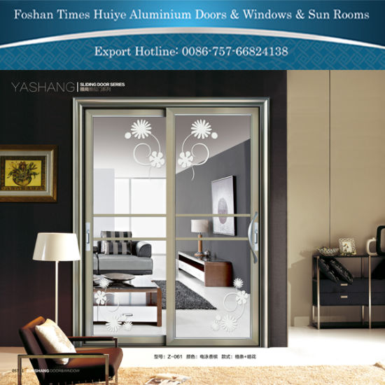 Top10 Brand Aluminum Sliding Doors with Double Glazing pictures & photos