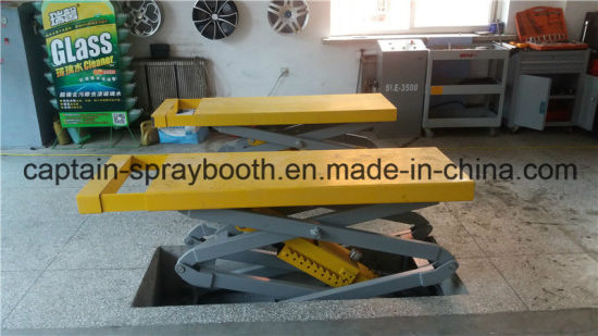 Underground Good Quality Scissor Car Lift with Ce pictures & photos