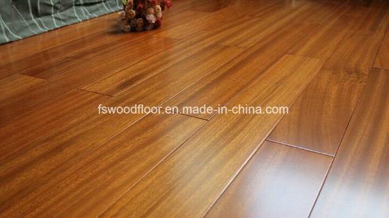 China Solid Natural Iroko Wood Parquet Flooring China Iroko Wood - How much is parkay flooring