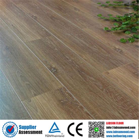 China Handscraped Ac3 8 Mm Laminate Flooring Stair Nose China