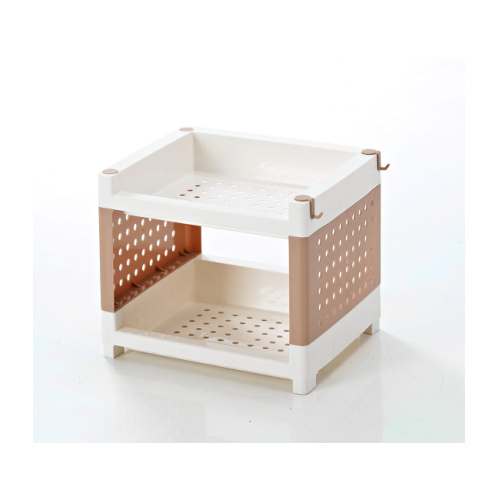 Washbasin Rack Foods Basket Fruits and Vegetable Storage Plastic Container Hc1552 pictures & photos