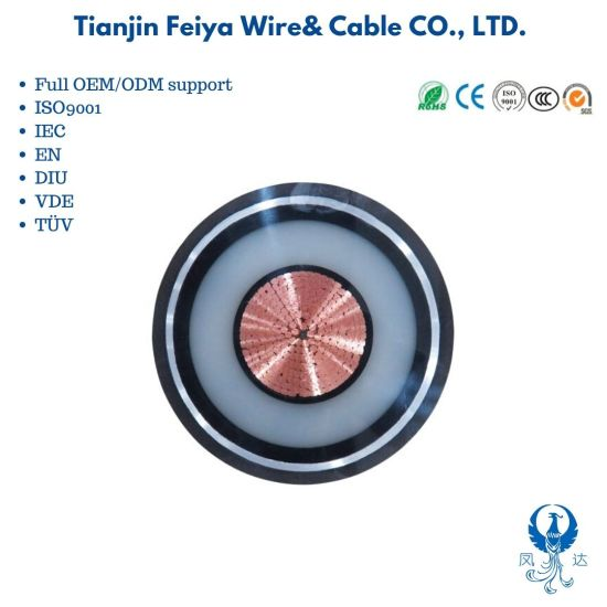 Copper Cable Zr Yjv22 0.6/1kv XLPE Insulated Steel Tape Armoured Sta Swa Undergound Power Cable