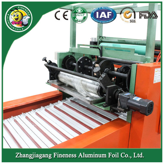 Hot Selling Automatic Aluminum Foil Cutting and Rewinding Machine Hafa-850 pictures & photos