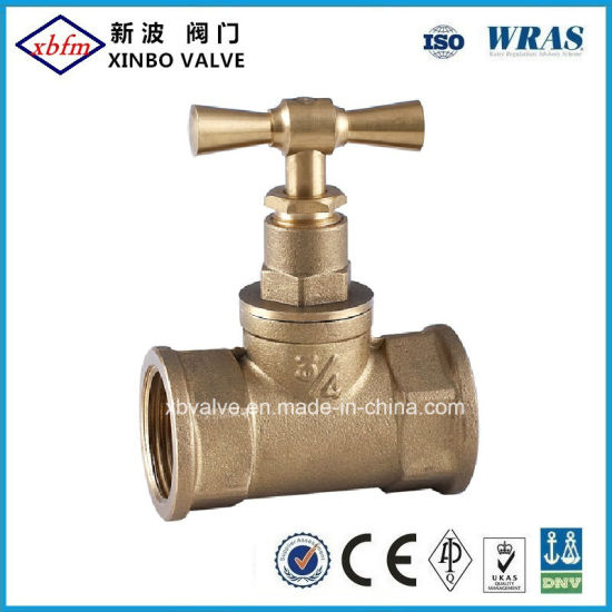 High Performance Brass Stop Valve pictures & photos