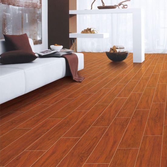 China Persian Rustic Matt Finish Glazed Wood 3d Floor Wooden Tile