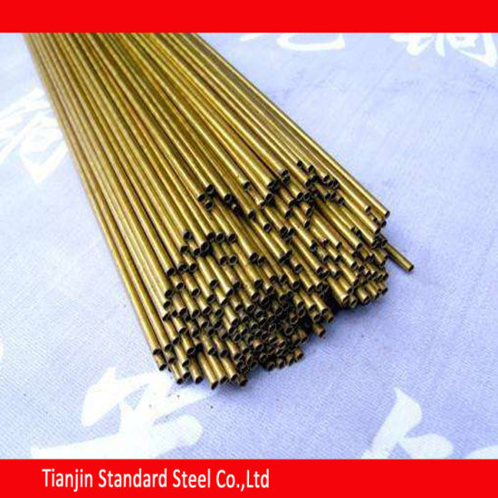 Round Brass Tube 300 mm Length 8 mm OD 1 mm Wall Thickness Seamless Straight Pipe Tube 3 Pieces