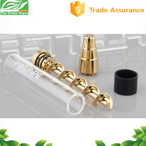 Newest Dry Herb Vaporizer Mini Glass Water Pipe 7 Pipe Twisty Glass Blunt Vaporizer for Herb pictures & photos