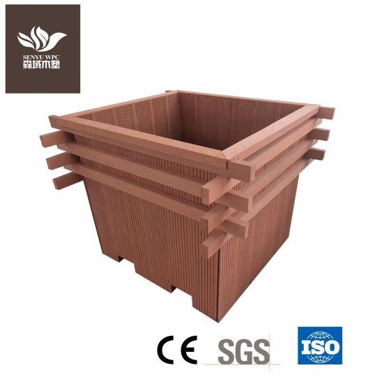 Manufacturer of WPC Flower Box Garden Pot