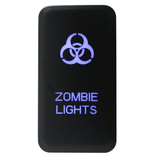 Zombie Lights/Toyota Blue LED Push Switch pictures & photos