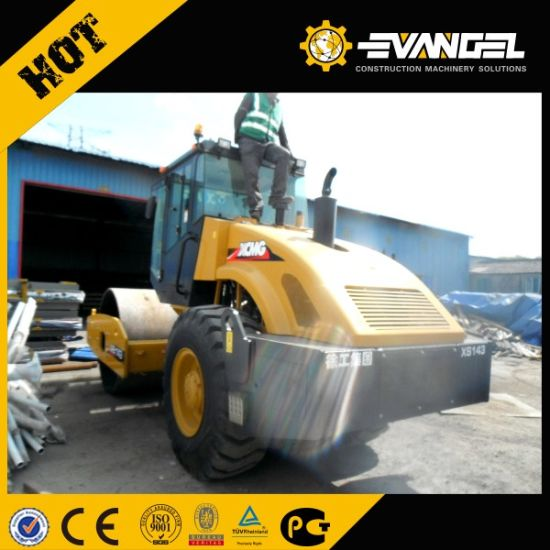 High Quality 16 Ton Single Drum Road Roller Xs163j pictures & photos
