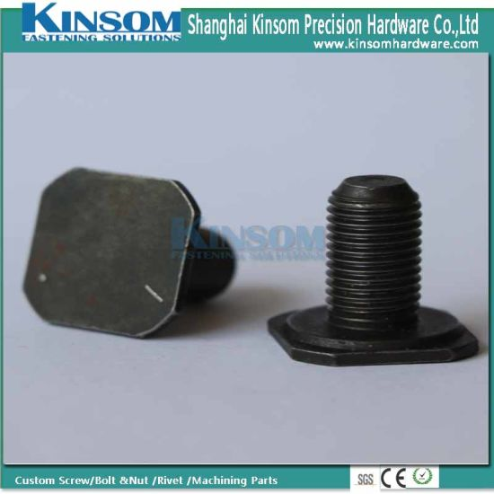 Automotive Industrial Fasteners Square Machine Step Screw