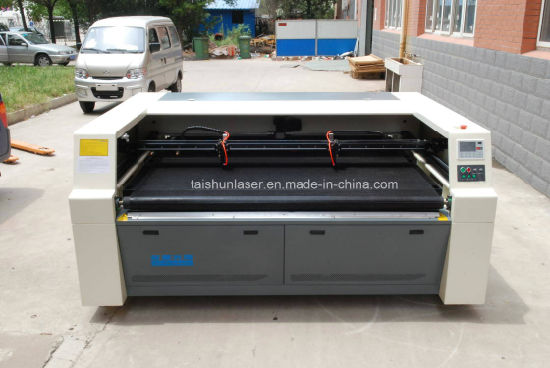 Engineering Plastic Laser Cutting Machine Tshy180100 pictures & photos