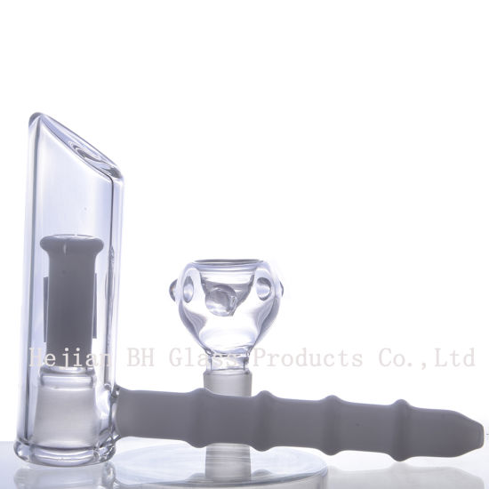 China DF2624 Manufacture Clear Wholesale Oil Burner Glass Smoking
