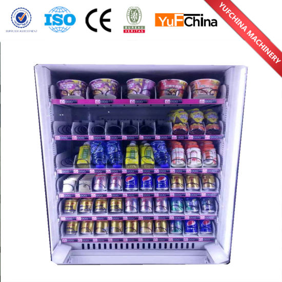 New Design Multifunction Snacks and Drinks Vending Machine for Sale pictures & photos
