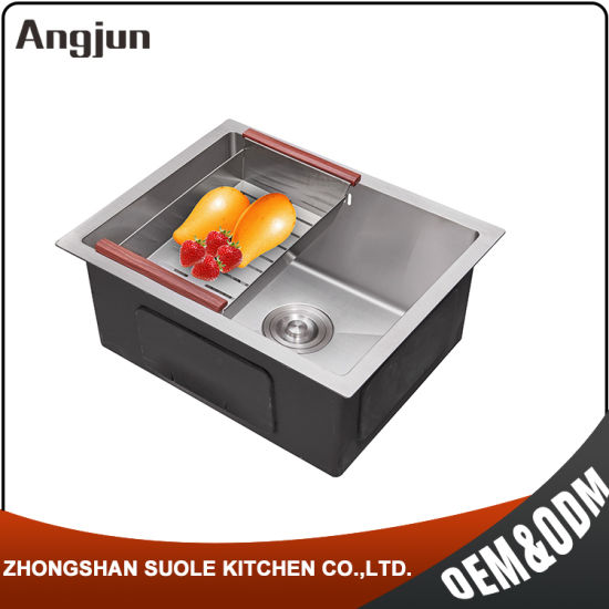 China Hand Made Commercial Stainless Steel Undermount Kitchen Sink ...