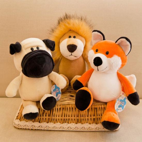Wholesale Soft Character Stuffed Fabric Toy Plush Animal