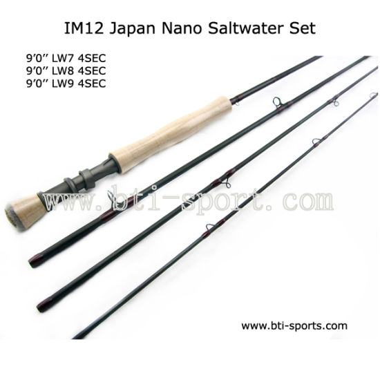 High Strength Im12 Nano Carbon Freshwater Saltwater Fly Rod Fly Fishing Rod by Customize Service pictures & photos