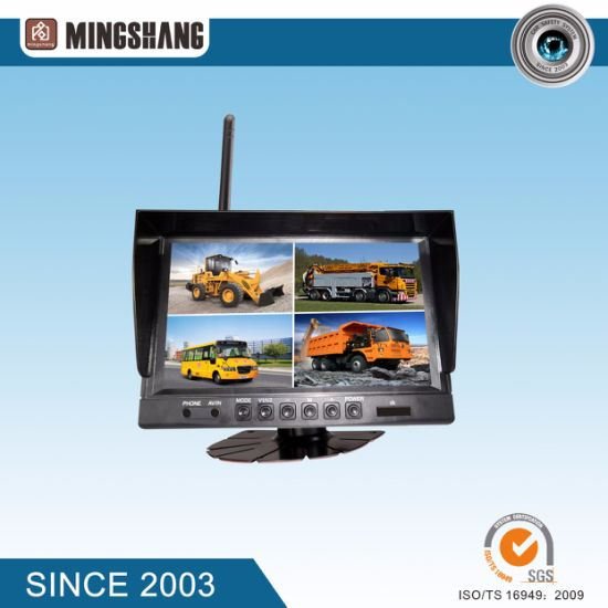 "9"" Car Wireless Rear View System with Night Vision Camera pictures & photos"