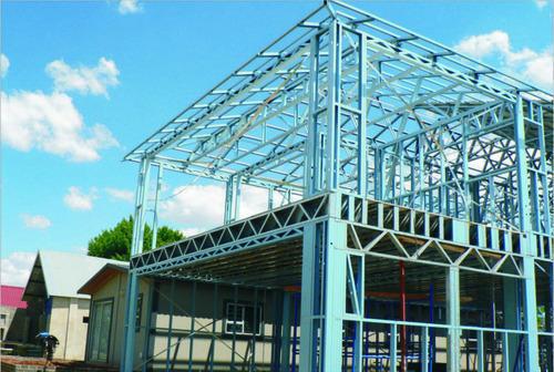 China Prefabricated Steel Metal Buildings Light Steel Frame Factory ...