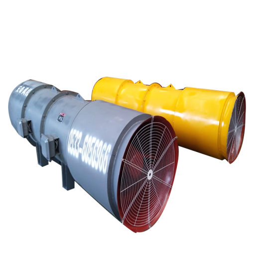 1480rpm 770-1500m3/Min Industrial Axial Fans Tunnel Construction Fan/Mine Fan Blower
