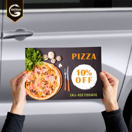 Waterproof UV Full Color Sticker Car Magnet Signs pictures & photos