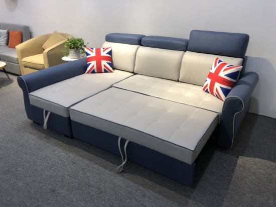 Sectional Sofa Bed, L Shaped Sleeper Sofa