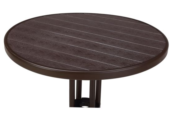 Small Portable Plastic Pp Round Table, Round Table Plastic