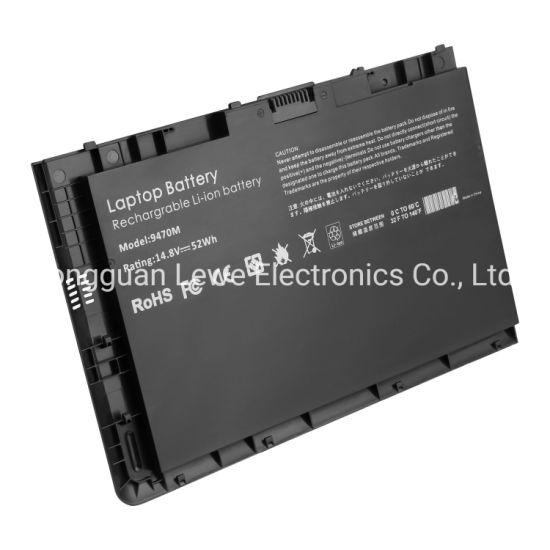New Bt04XL Battery for HP Elitebook Folio 9470 9470m Series Hstnn-I10c Bt04 Ba06