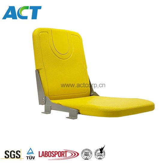 Deck Mounting Plastic Stadium Chair, Foldable Stadium Seat CS-Zzy-P