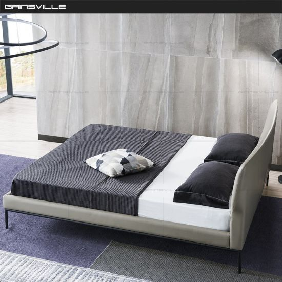 Wholesale Foshan Factory Home Furniture Bedroom Bed Set with High Quality Gc1729