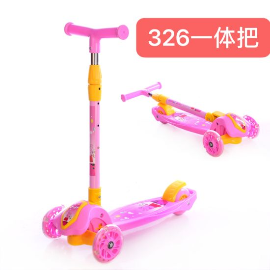 New Three-Wheeled Lift Scooter Children′s Three-in-One Skidding Exercise Gift Scooter Sc-27 pictures & photos