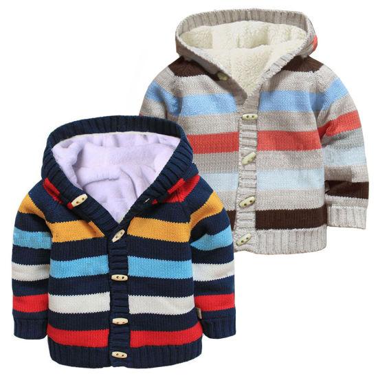 Striped Series Multicolor Stripes Cardigan Knitwear