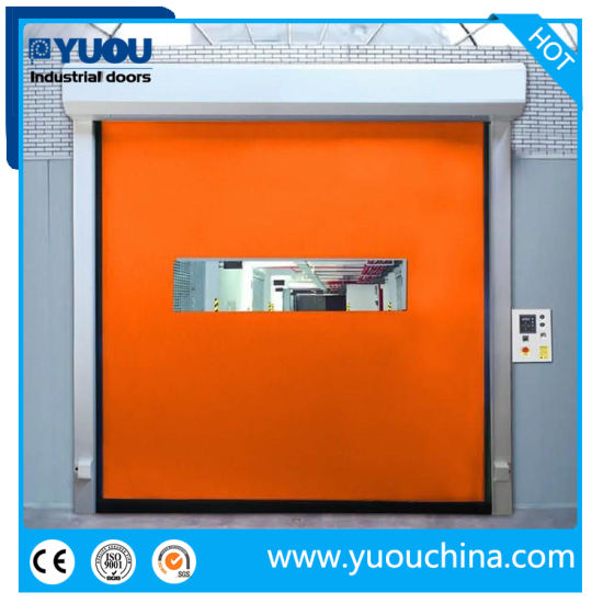 Zipper Type High Speed Roll up Door pictures & photos