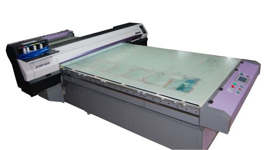 Fd1688 High Speed Inkjet Print Machine for Silk Roll Solution