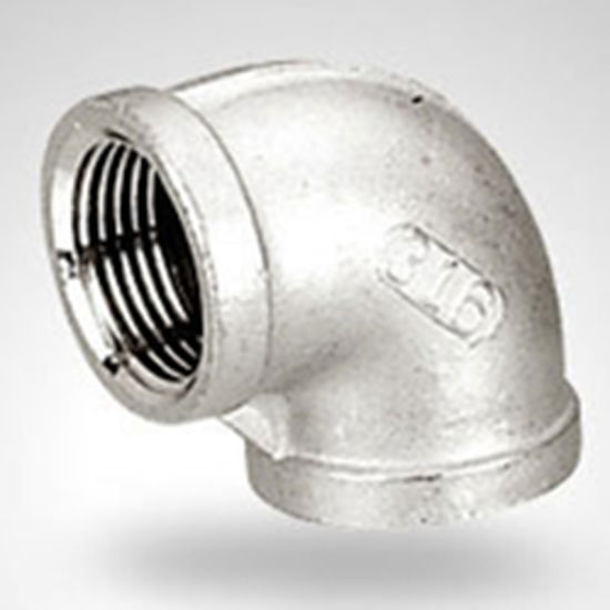 Stainless Steel Pipe Fittings 90 Degree Elbow pictures & photos