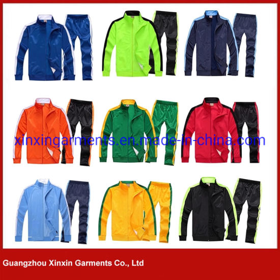 Design Your Own Tracksuit 2019 Custom Design Winter Sports Suits for Women Wear (T407) pictures & photos