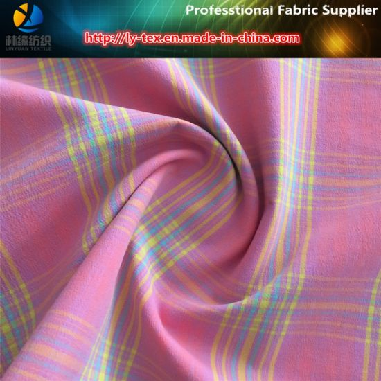 Nylon Fabric, Nylon Yarn Dyed Fabric with Spandex for Women′s Shirt pictures & photos