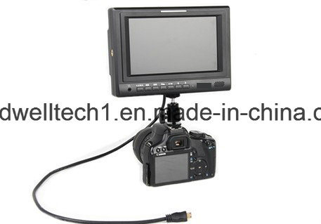 7 Inch LCD Director Monitor with Sdi, HDMI, YPbPr Input pictures & photos