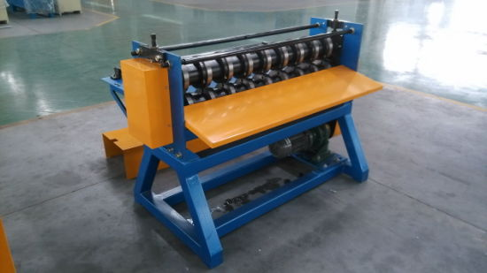 Galzed Steel Sheet Simple Slitting Machine Cheap Slitter pictures & photos