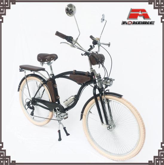 "Bicycle Spring Fork 22.2mm Steering Tube 5 1//2/"" Chrome Lowrider Bike Fork Part"