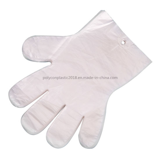 Factory Wholesale PE Plastic LDPE Disposable Gloves