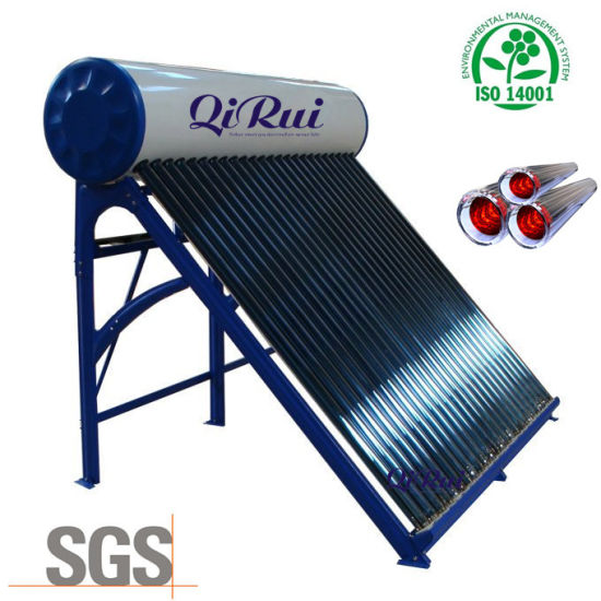 Unpressurized Vacuum Tube Solar Water Heater (CNP-58) pictures & photos