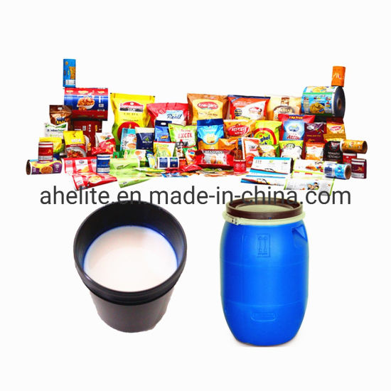Water Based Acrylic Emulsion Sealing Adhesive for Laminated OPP/Pet/PVC to Paper