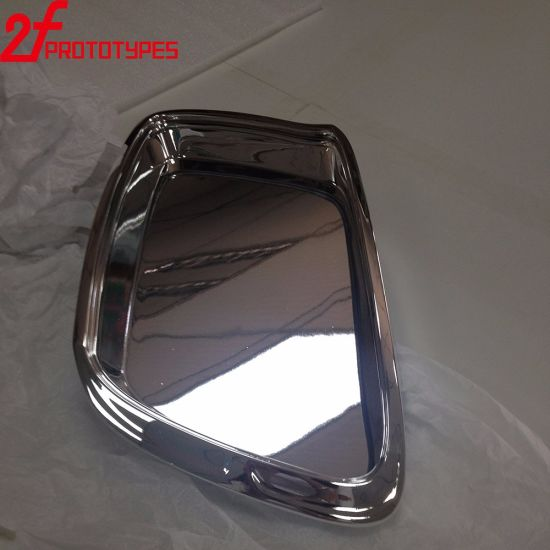 Transparent High Polished PMMA Parts by CNC Rapid Prototyping